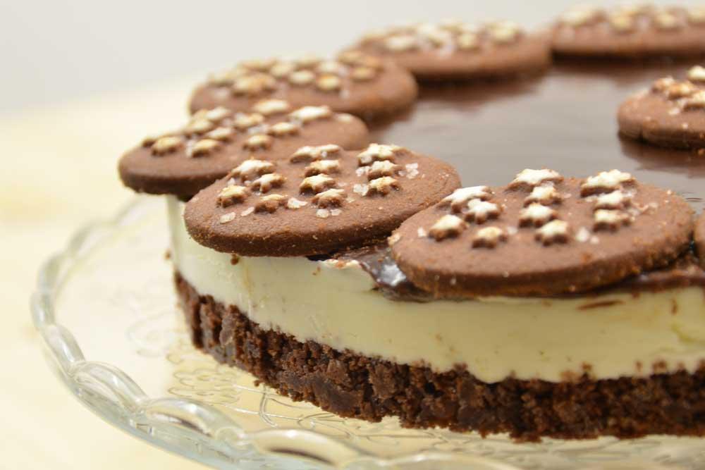 cheesecake al cacao fatta in casa ricetta